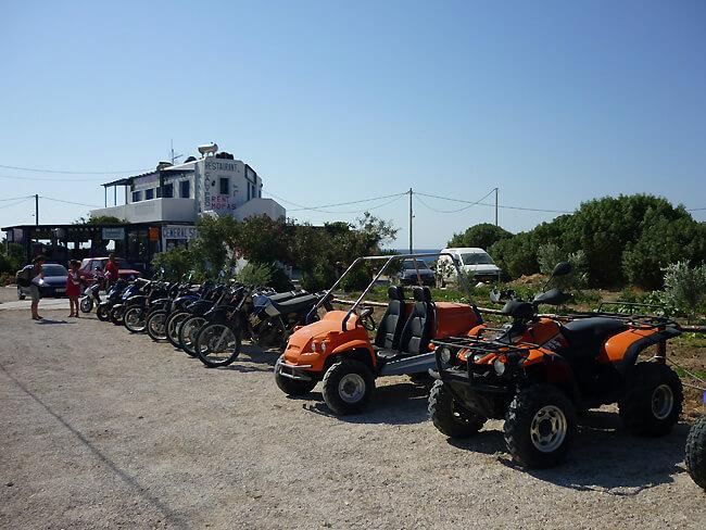 moto for rent in Karpathos