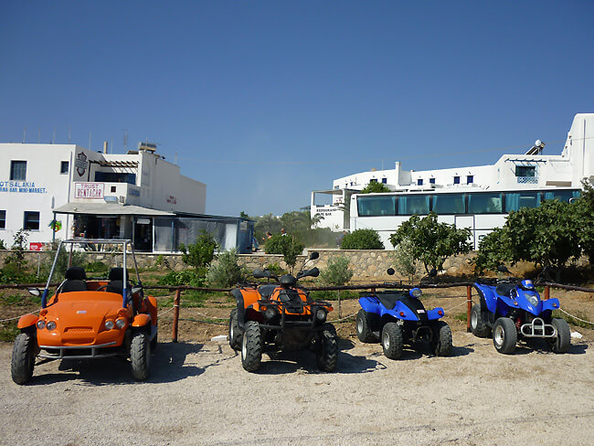 ATV for rent in Karpathos